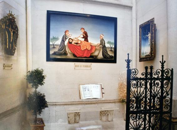 05-les travaux et la décoration totale de la Chapelle des défunts à l'église des Réformés à Marseille
